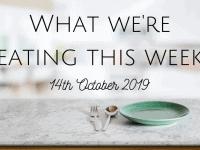 #MealPlanningMonday {14th October 2019}...