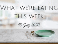 This week's meal plan {13th July 2020} ....