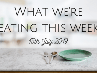 #MealPlanningMonday {15th July 2019}...