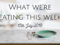 #MealPlanningMonday {15th July 2019}...