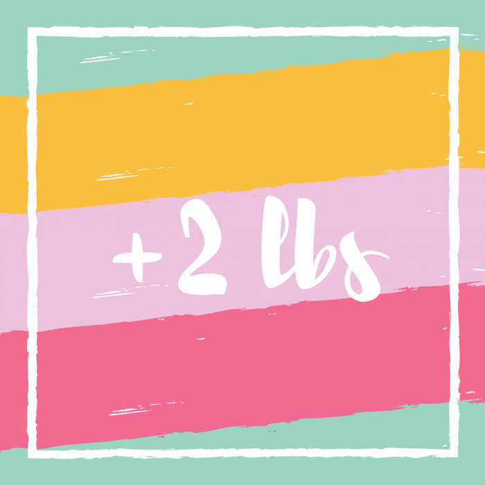 This week's weight loss!