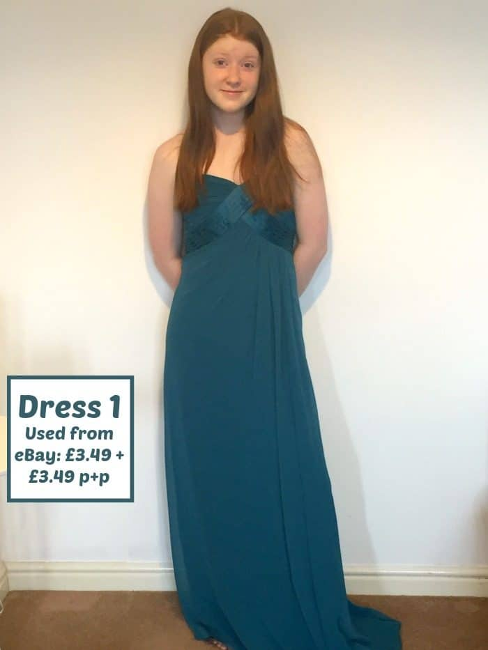 Three Prom dresses for under £7.50....