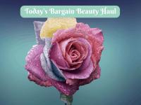 Today's Bargain Beauty Haul....