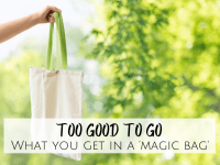 Too Good to Go - what you really get in a 'Magic Bag'....