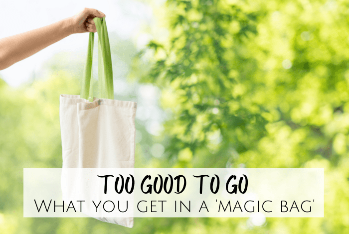 Too Good To Go - what you get in a magic bag
