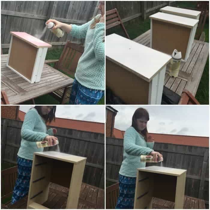 Upcycling a bedside cabinet
