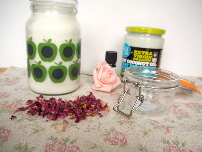 Valentines Rose Petal and Vanilla Sugar Scrub