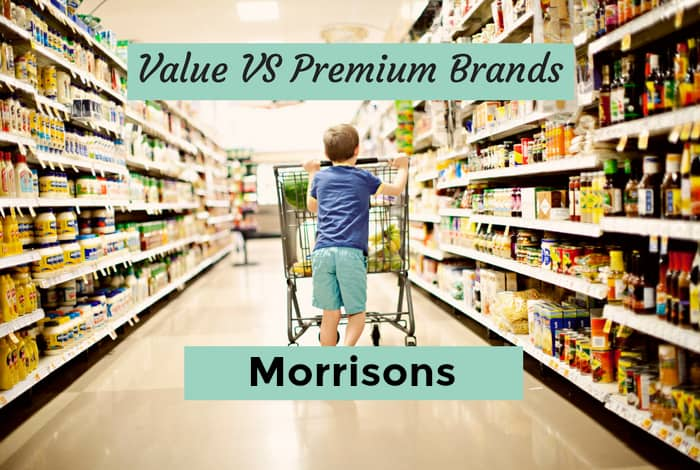 Value vs premium - Morrisons