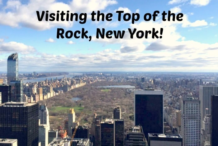 Visiting the Top of the Rock, New York!
