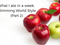 What I ate in a week - Slimming World Style {Part 2}...