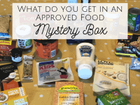 Approved Foods Mystery Box - what I actually got....
