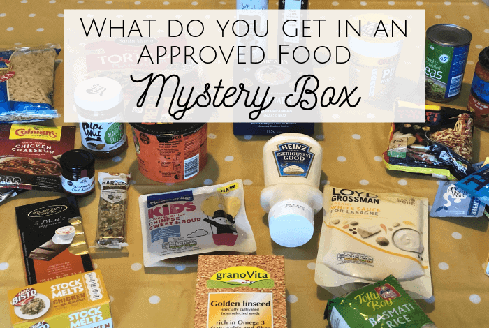 I ordered an Approved Food Mystery Box last weekend and it arrived yesterday so I thought I'd share the contents with you today!