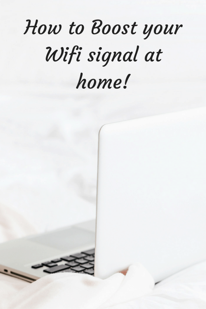 How to Boost your Wifi signal at home!