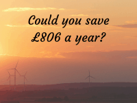 Could you save £806 a year and reduce your energy bills....