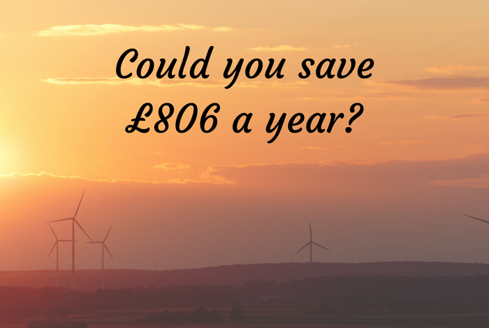 Could you save £806 a year