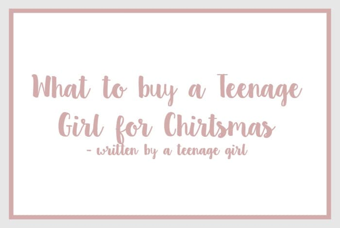 Are for teen girls written by your idea