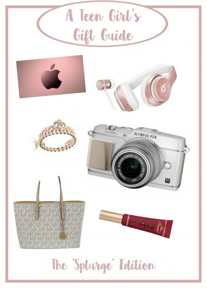 What to buy a teenage girl for Christmas - as written by a teenage girl .....