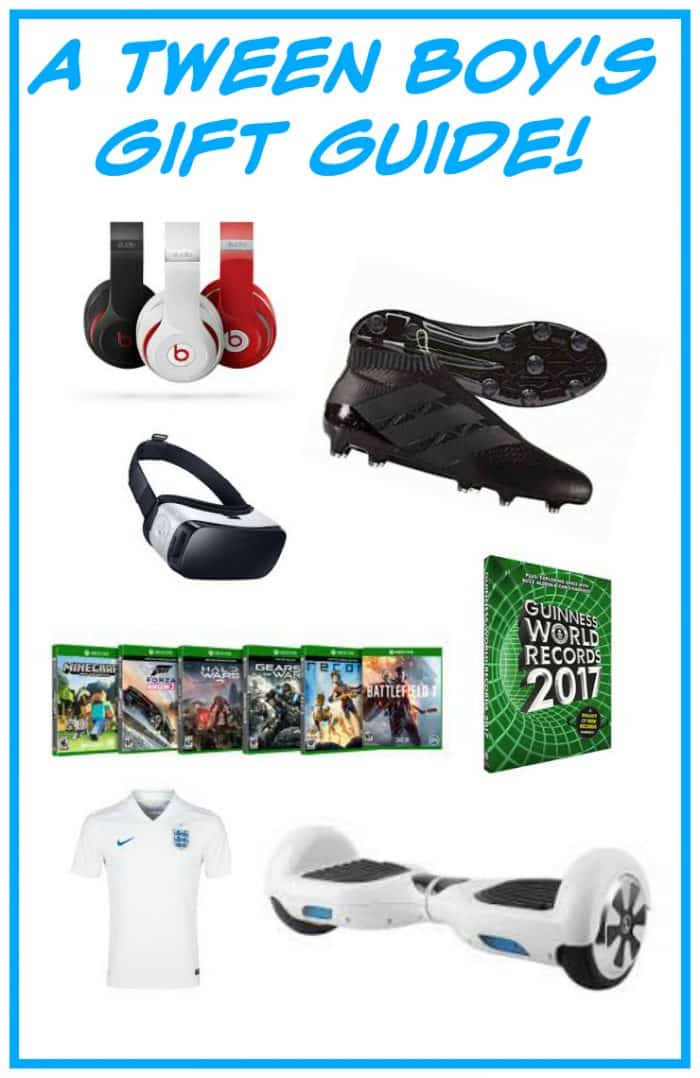 What to buy a tween boy for Christmas - as written by a tween boy....