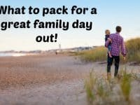 What to pack for a great family day out....