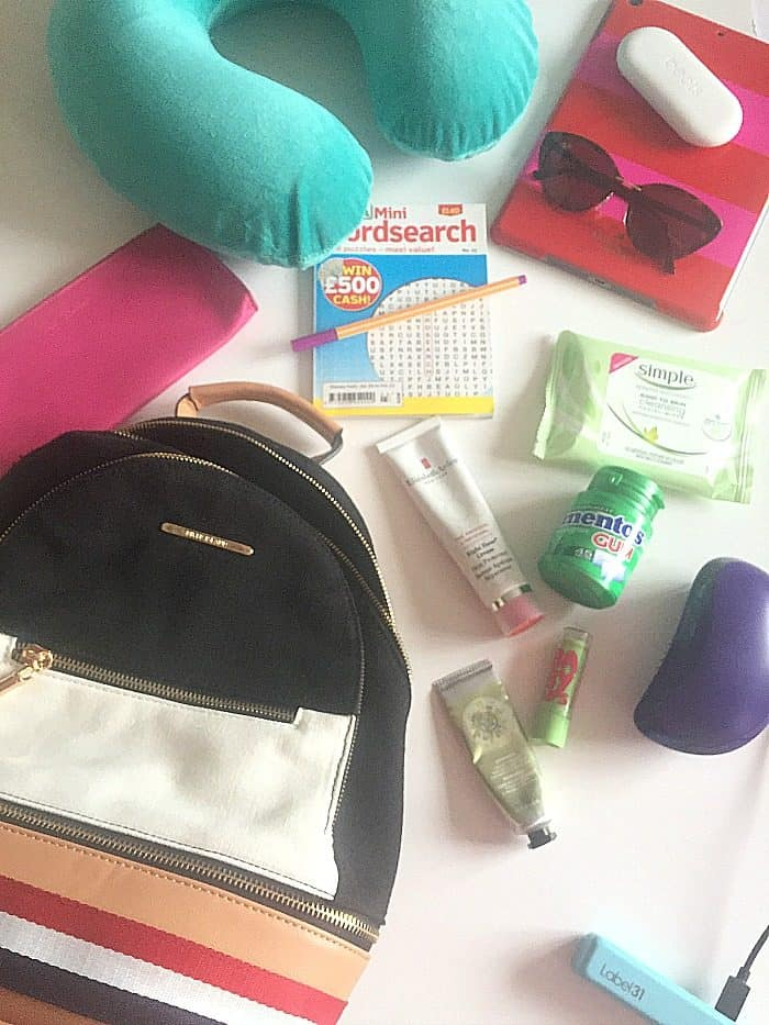 What to pack in your carry on bag - according to a teenager