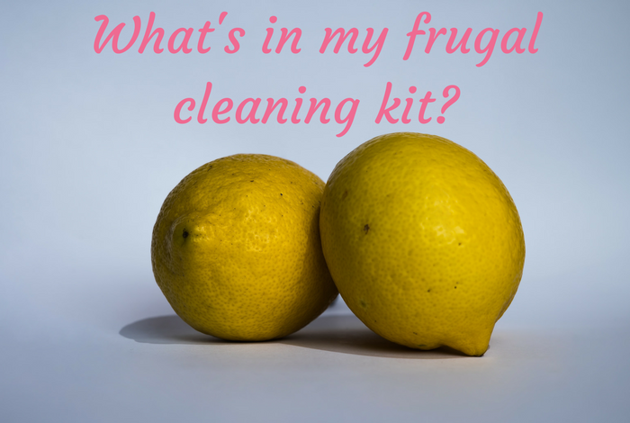 What's in my frugal cleaning kit?