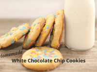 Delicious White Chocolate Chip Cookies....