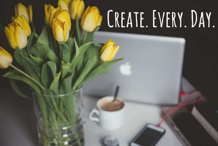 Why I create every day....