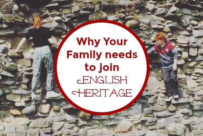 Why Your Family needs to join English Heritage