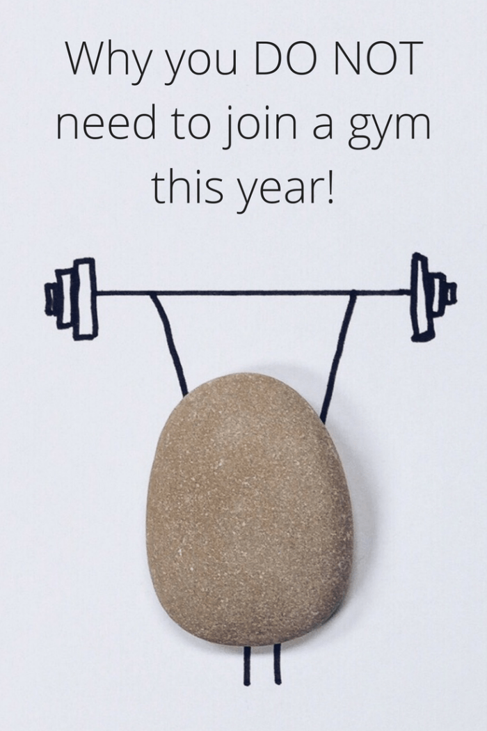 Why you do not need to join a gym this year. #resolution #fitness #health