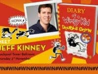 Win tickets to see WIMPY KID: Double Down LIVE with Jeff Kinney.....
