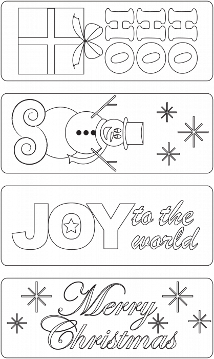 Free printable bookmarks to colour in....