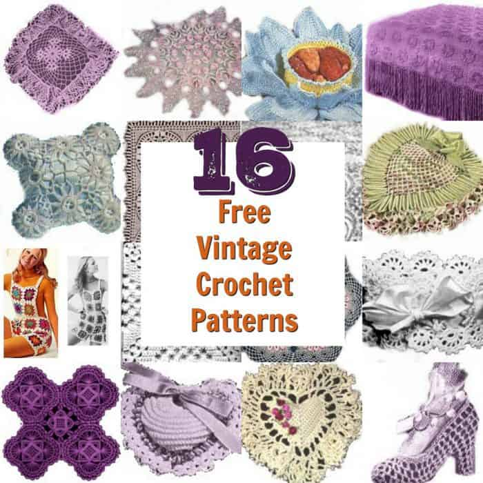 16 Vintage Crochet Patterns The Diary Of A Frugal Family