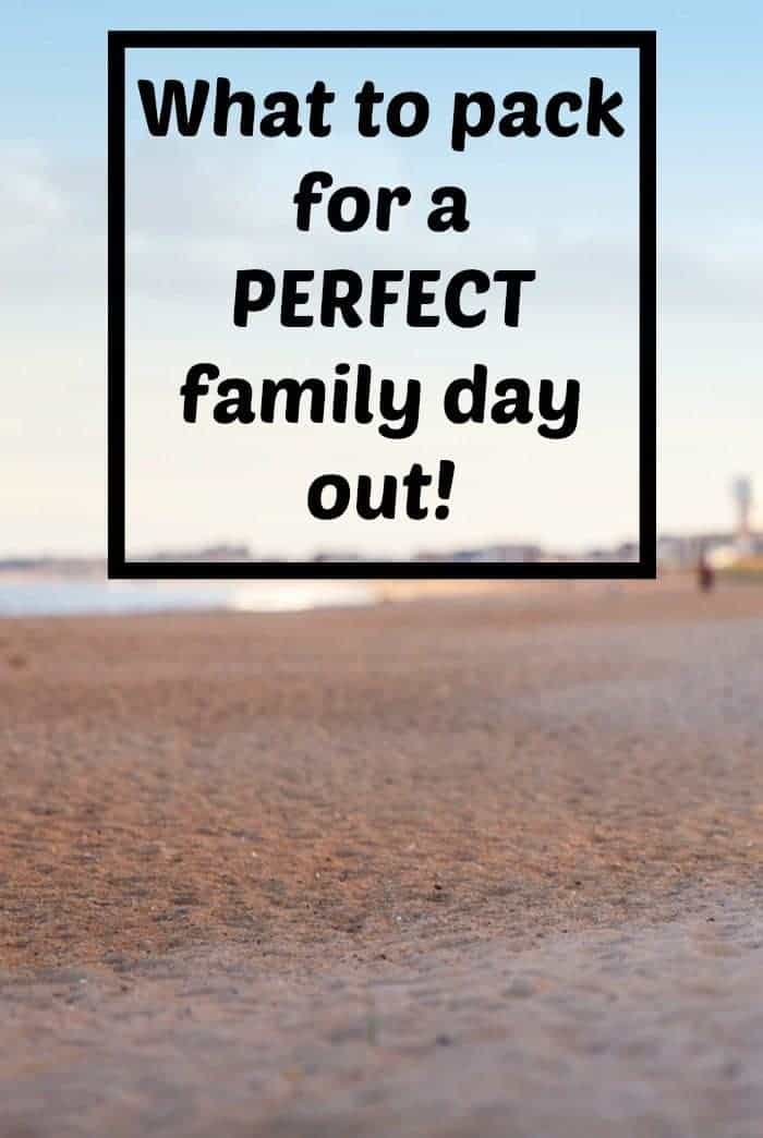 Family days out can be quite stressful if you forget something so here's a handy list of everything you need to remember for a PERFECT family day out.