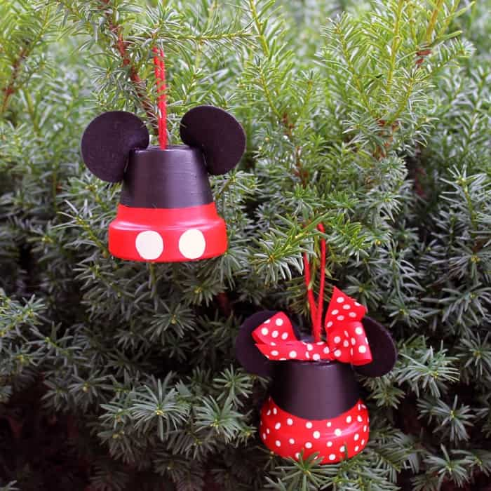 Mickey & Minnie: Make Disney Inspired Ornaments