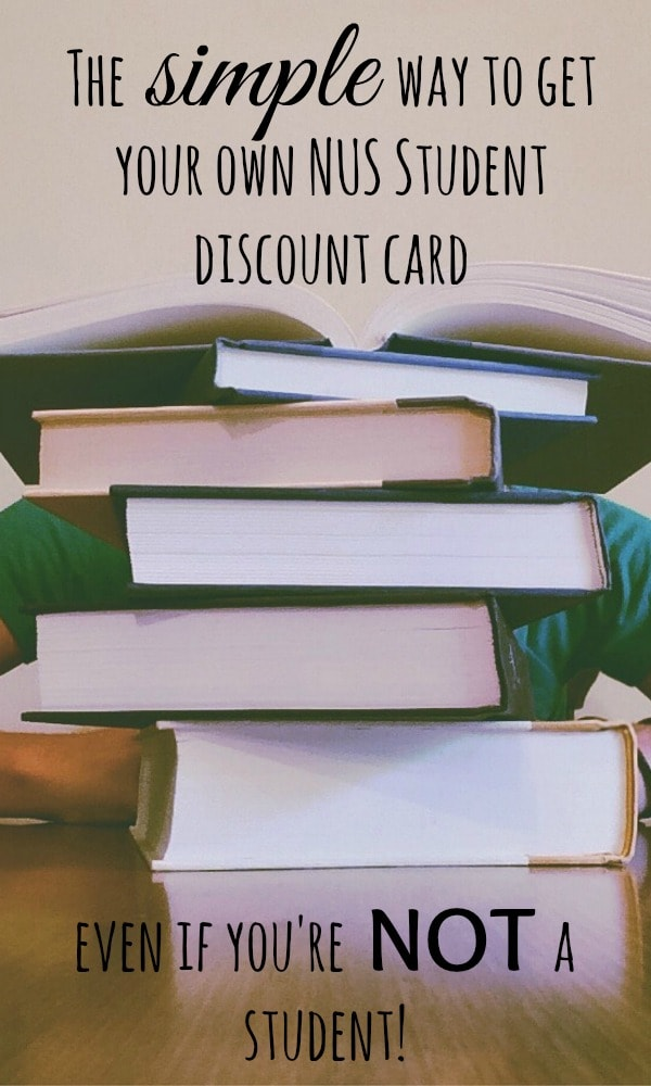 The simple way to get your own NUS Student discount card - even if you're NOT a student!