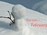 That was.... February!