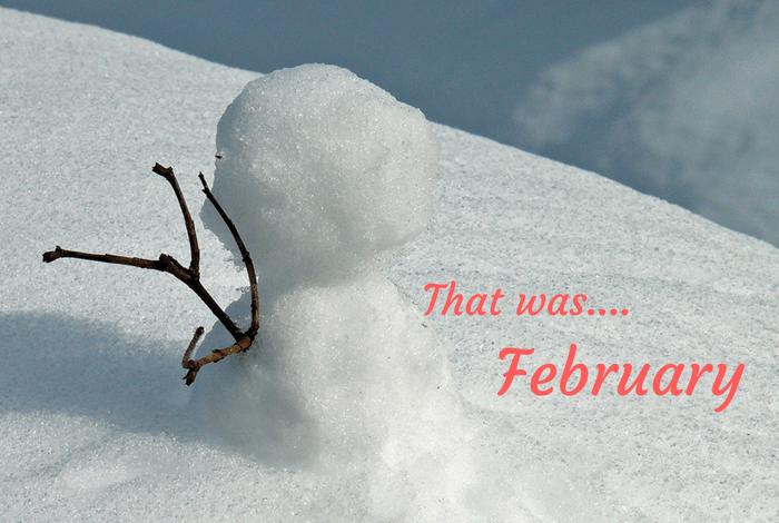That was.... February