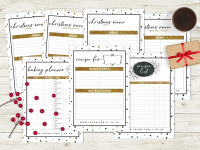 Have an organised Christmas with my amazing FREE Christmas planner printable....
