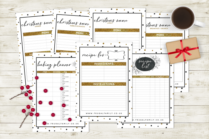 Amazing Free Christmas Planner Printable
