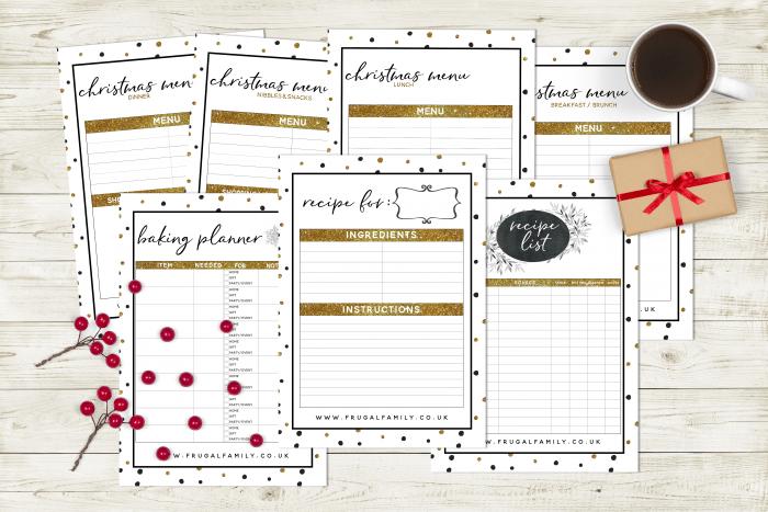 Amazing Free Christmas Planner Printable