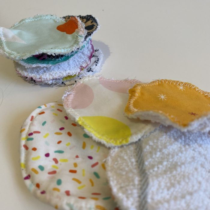 DIY reusable make up wipes