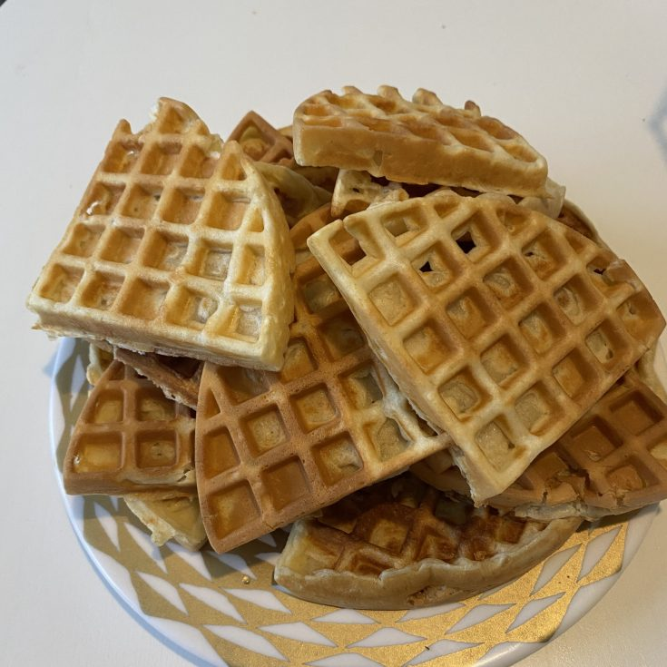 Super easy waffle recipe