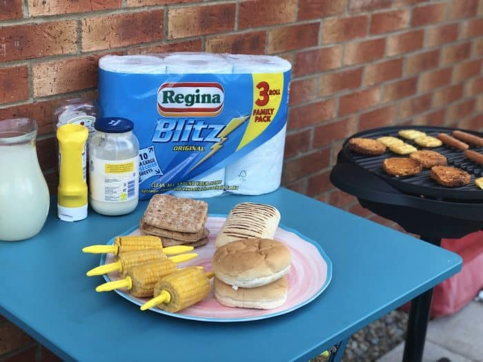 A (belated) back to school barbecue....