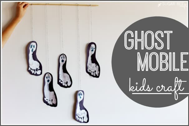 Ghost Mobile Kids Craft