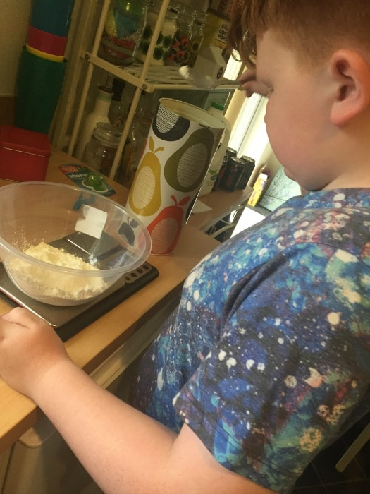 kids in the kitchen cooking Rainbow vegetable fritters