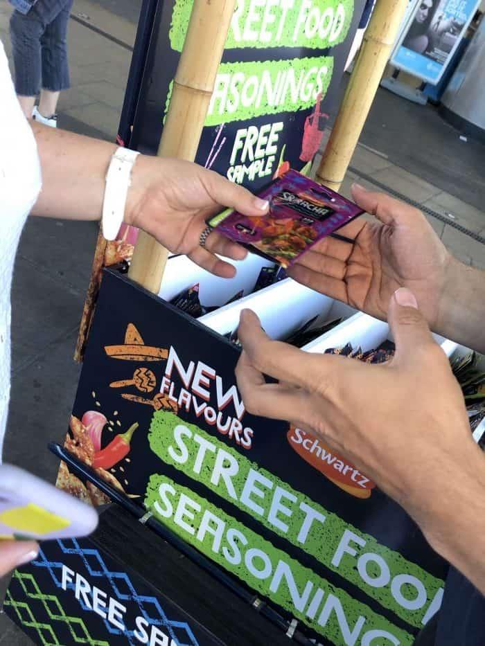 Free street food seasonings
