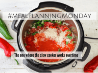 #MealPlanningMonday - the one where the slow cooker works overtime....