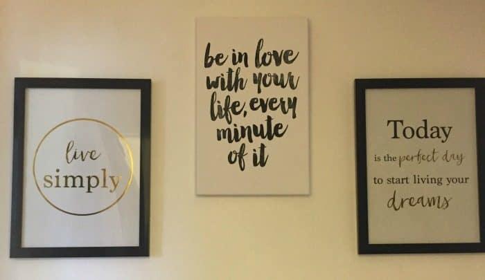New wall prints