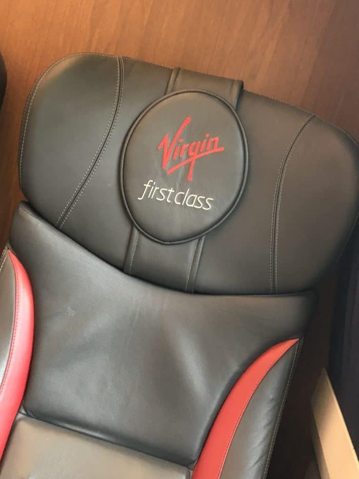 First class on Virgin