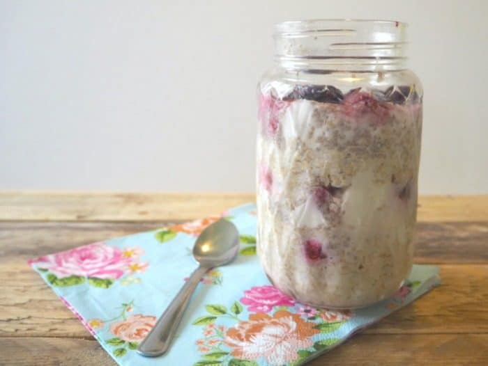 Overnight Oats - perfect for Breakfast on the go.